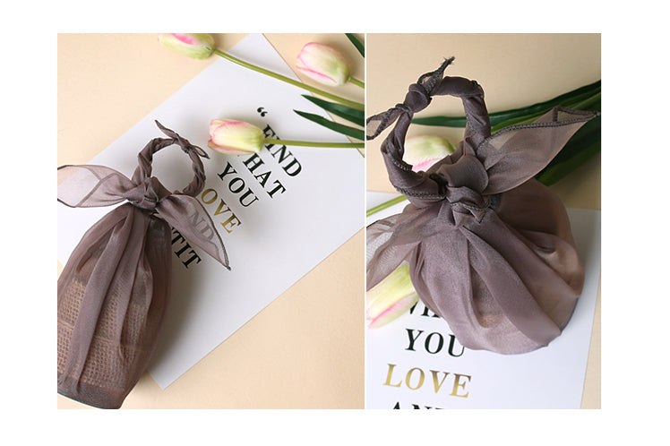 Protect your keepsakes using Korean gift wrapping cloth, known as Bojagi.