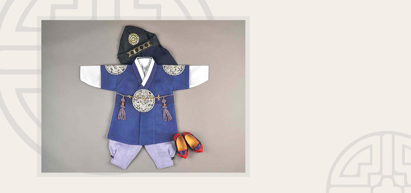 Baby boy hanbok best seller cute prince