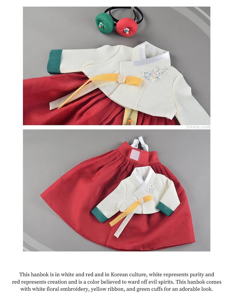 Suggestion why Joteta.com provides the best hanboks for baby girl in the American market. We provide quality and authentic hanboks made in Korea.