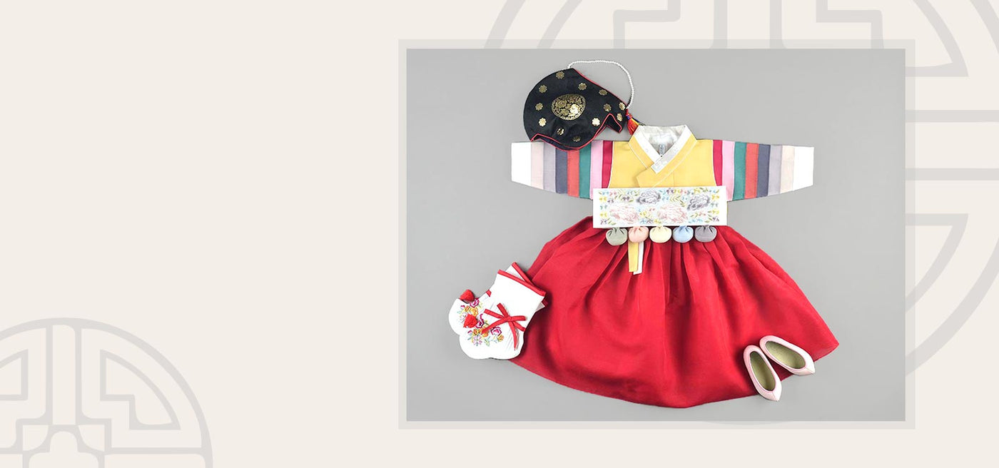 Baby girl hanbok best seller lovely princess