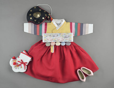 Korean Dol Hanbok for Girls