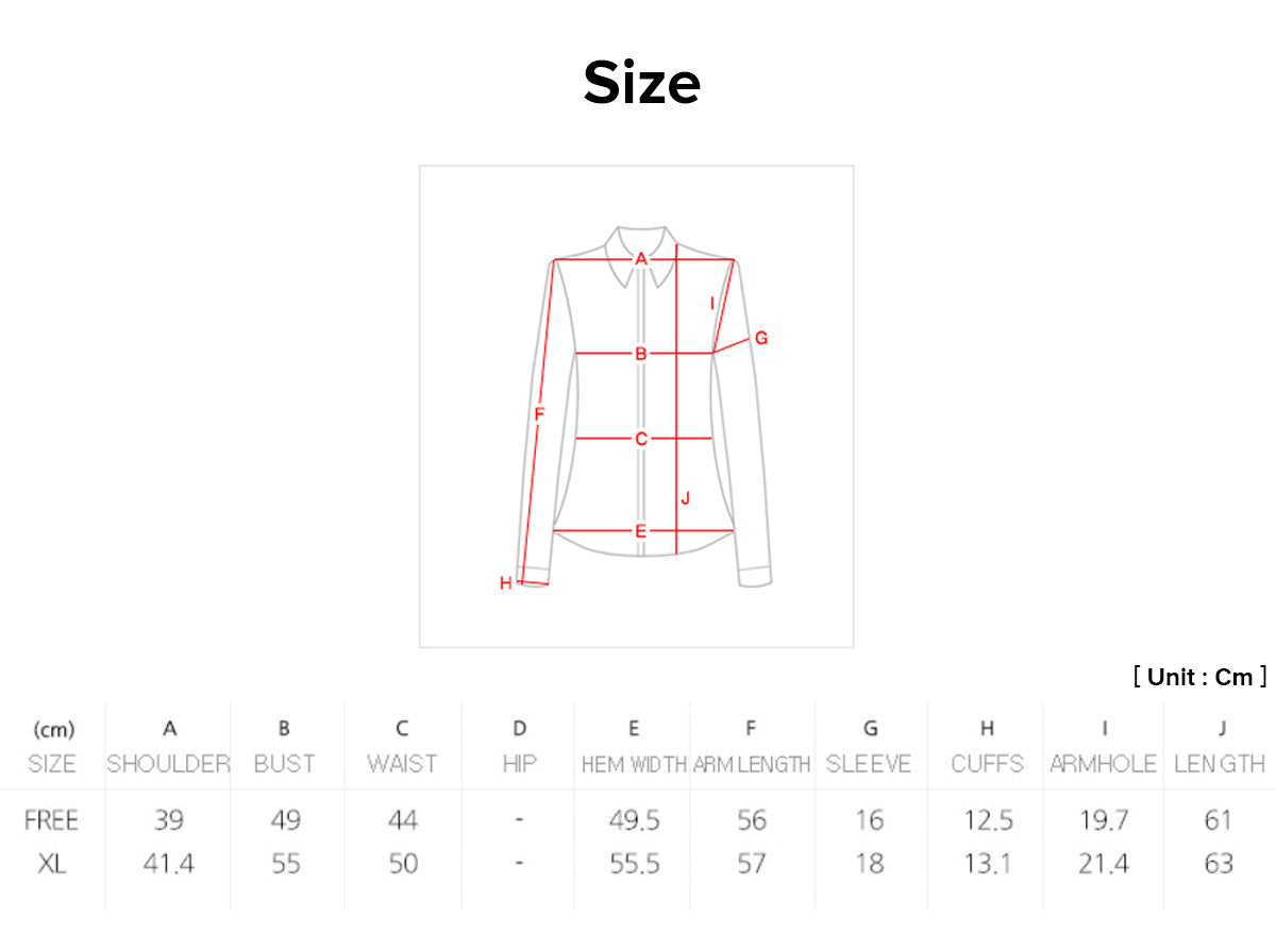 We offer a sizing chart so that your obsidian floral modern hanbok blouse will fit you regardless of your size.