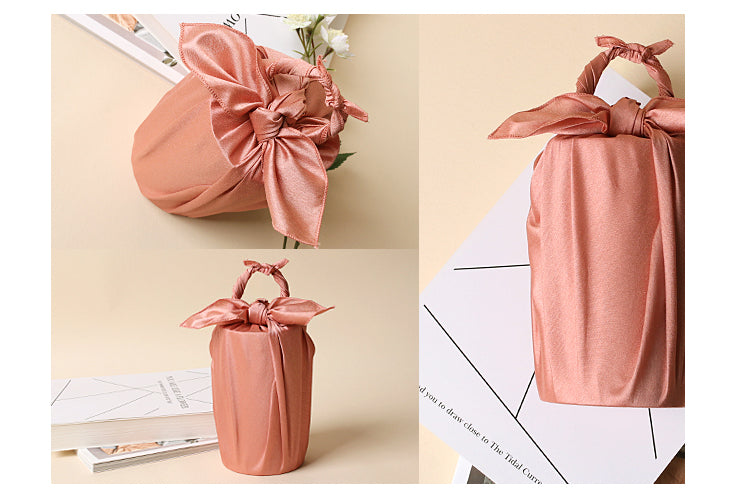 You can use the Bojagi gift wrap to protect keepsakes too, so it's fabric wrapping that has multiple uses.