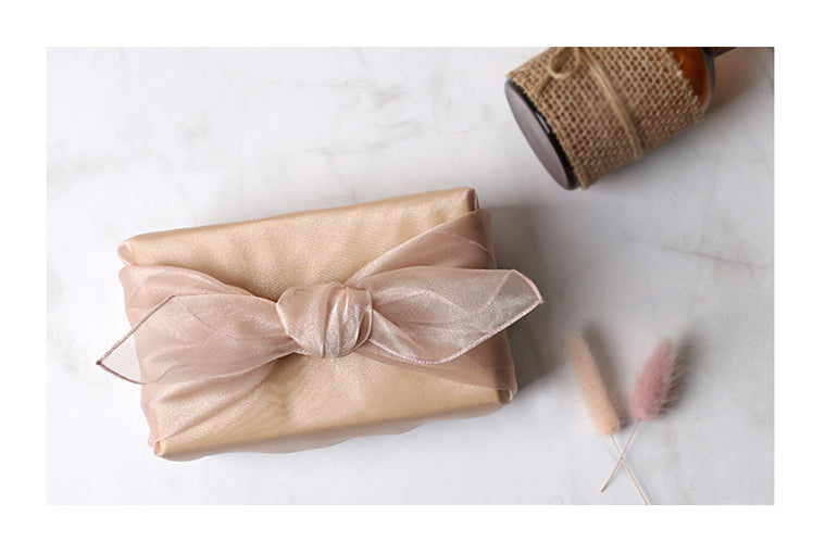This creamy blush colored Korean wrapping cloth is best suited for any traditional Korean happenings.