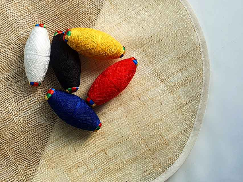 5 Color Yarn is one of the doljabi items in our Kit.