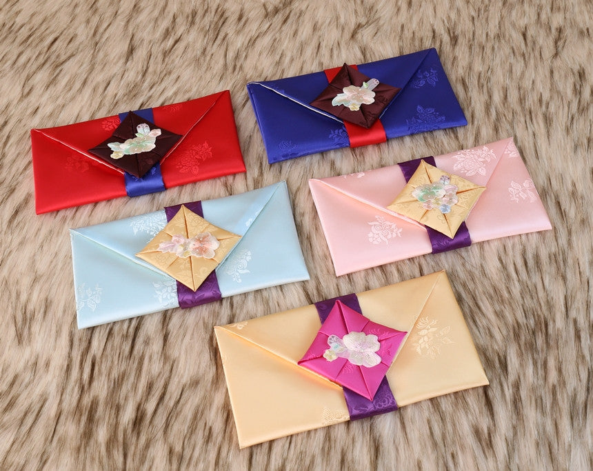 Furushiku Themed Korean Wedding Money Envelope for Sale on Joteta
