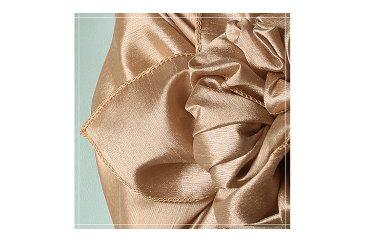 Bojagi wrapping cloths in amber bring sophistication to any Korean event. This fabric wrapping paper will look gorgeous around any gift.