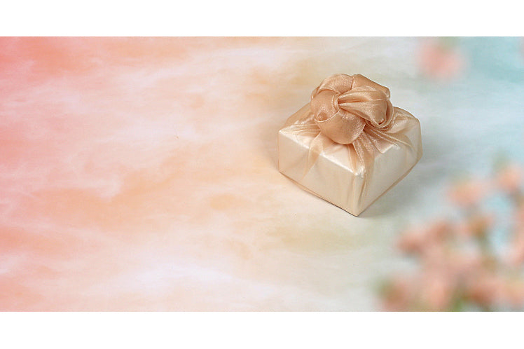 This golden Korean Bojagi is incomparable and is a reusable gift wrap that stands the test of time.