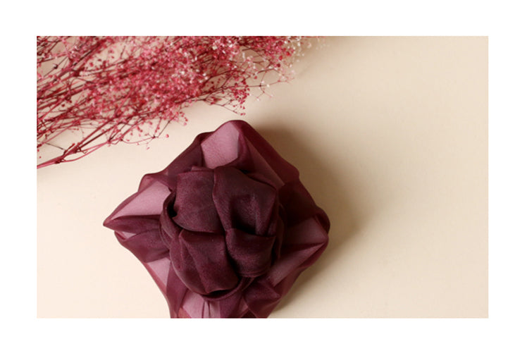 This grape lucid Bojagi is pleasing to the eyes and is the best luxury gift wrap on the market.