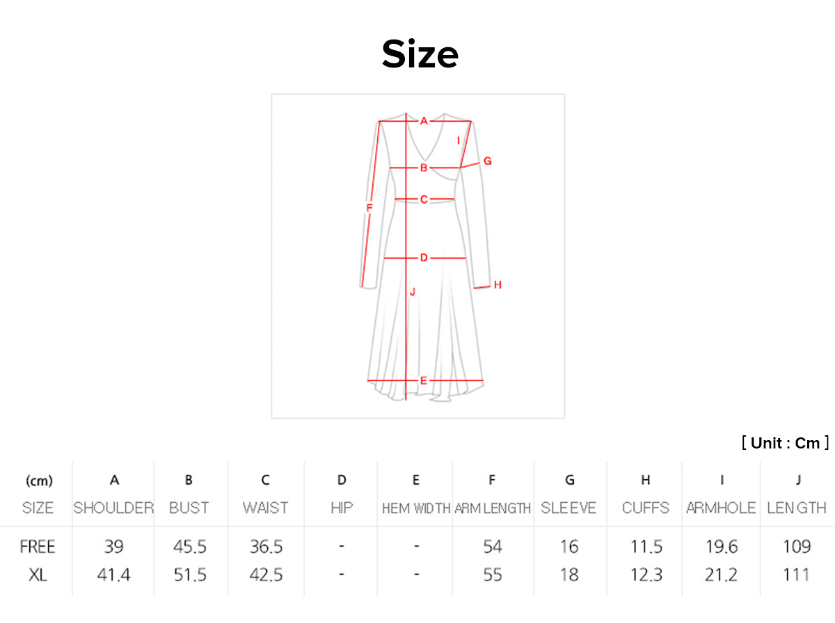 We offer a multitude of sizes and you can use this chart to ensure the modern hanbok dress in pewter with ink black flowers fits you properly.