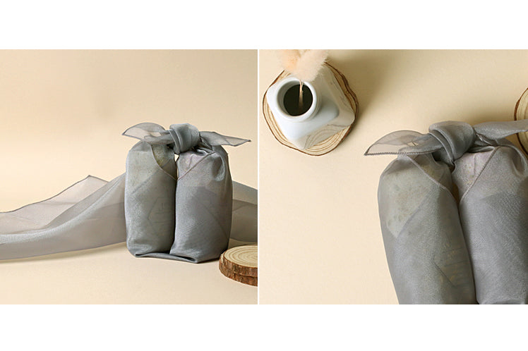 Bojagi Fabric is thought to be the best fabric wrapping paper and this ash color is heavenly.