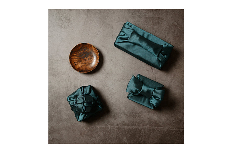 You can use the Korean Bojagi to wrap cups and bowls, which are great housewarming gifts for loved ones. Wrapping presents with fabric means you'll no longer spend hours trying to wrap the oddly-shaped gift.