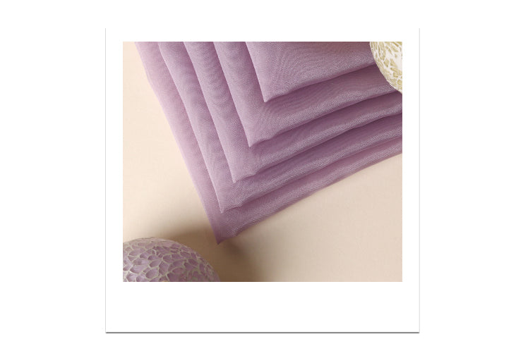 An impressive way to bring a gift to anyone by using this violet Bojagi fabric wrapping paper.