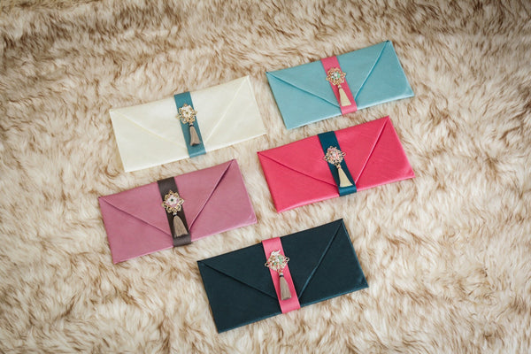 This is a korean money wallet that's used by Koreans for weddings.