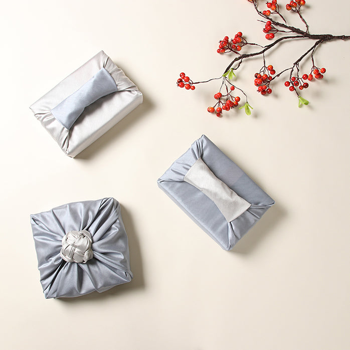 What you'll love about the double sided Bojagi is that it's reusable gift wrap that'll work well for any Korean occasion.