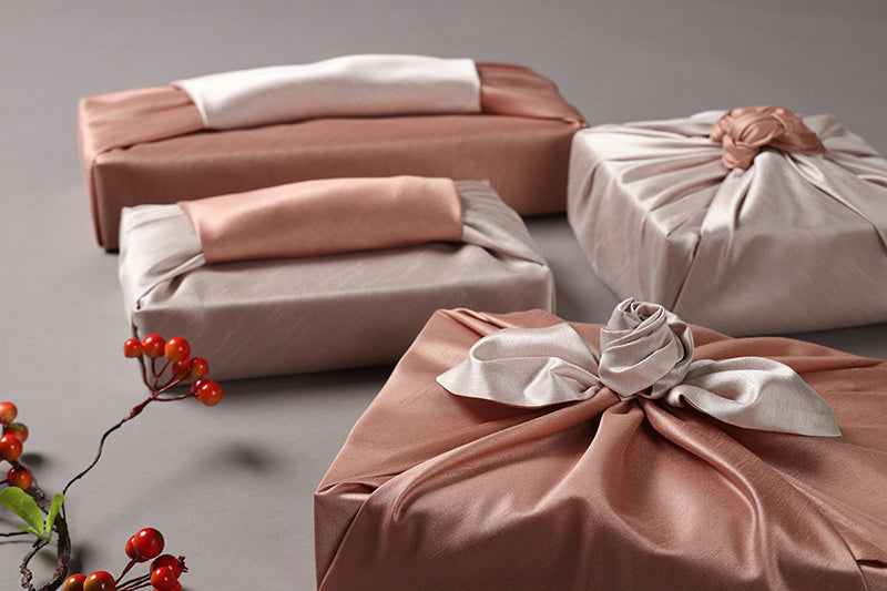 The light pink and white coloring of this Bojagi for sale is perfect for a spring and summer celebration. Wrapping presents in fabric just adds beauty unlike anything else can.