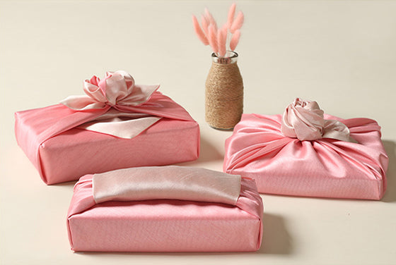 Fuchsia and blush Korean fabric cloth is illustrious for any baby girl Doljanchi.