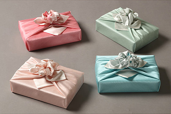Bojagi Korean is a fabric wrapping cloth that will add a heartfelt and distinctive touch to gifts.