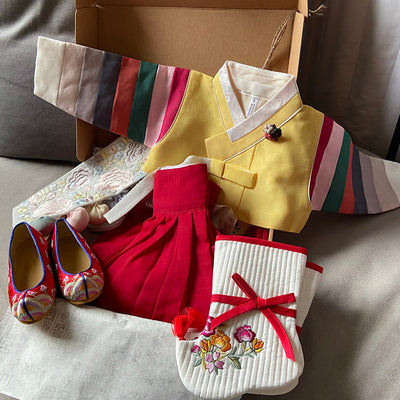 Review of Dol Baby Girl Hanbok by Sophie