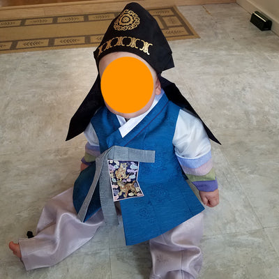 Review of Baby boy Dol Hanbok from Bridgette