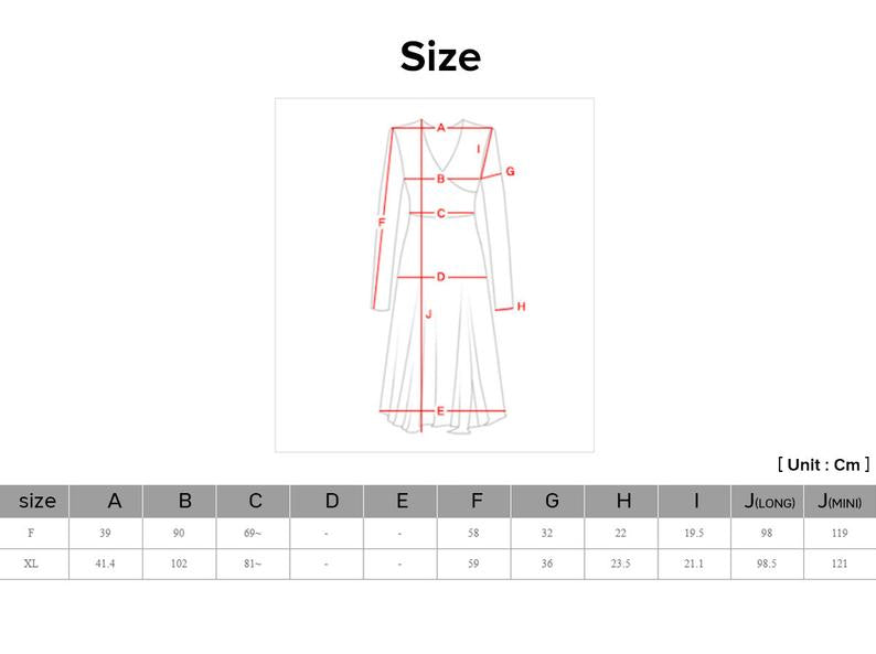 Here at Joteta, we offer a size chart for each item so that you'll find the right fit the first time.