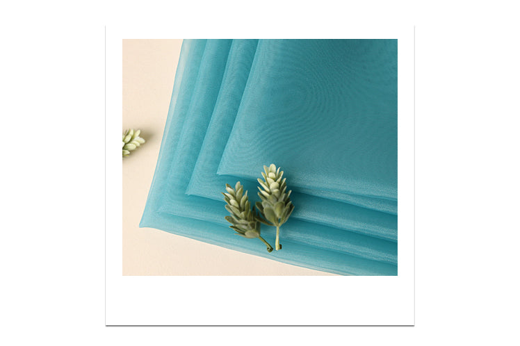 Iconic and traditional, this baby blue lucid Bojagi is the perfect luxury gift wrap for Seollal or any other special event.