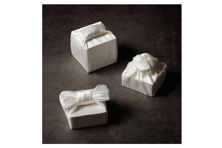 Ivory Korean Bojagi is a timeless and iconic gift wrap color that'll shine bright in any situation.