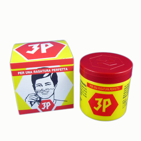 3P Shave Cream 100g - (For Kits - CSKB)-3P-ItalianBarber