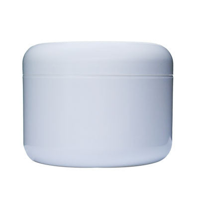 8 oz Double Wall White Jar With 89mm Opening-Proraso-ItalianBarber