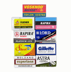 90 Blade DE Sampler Pack(90 blades) - (For Kits - CSKB)-Blade Sampler-ItalianBarber