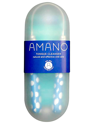 Amano Tongue Cleanser - Cornflower Blue - Amano - ItalianBarber.com - 2
