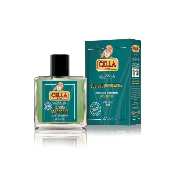 Cella Bio Organic Aftershave Lotion Splash-Cella-ItalianBarber