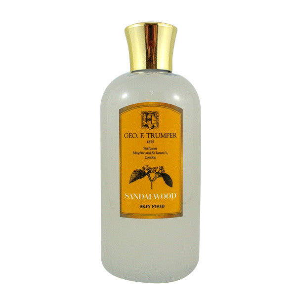 Geo F Trumper Sandalwood Skin Food Travel Bottle 200ml-Geo F Trumper-ItalianBarber