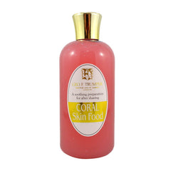 Geo F Trumper Coral Skin Food Travel Bottle 200ml - Geo F Trumper - ItalianBarber.com