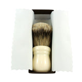 RazoRock Chubby Extra Silvertip Badger Shaving Brush - Ivory Handle 505-RazoRock-ItalianBarber