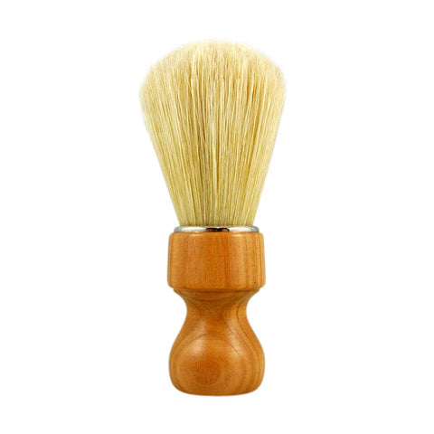 RazoRock Natural Boar Bristle Shaving Brush - with Cherry Wood 506 Handle (506CK) - RazoRock - ItalianBarber.com - 1