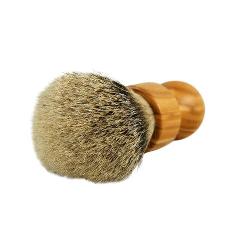 RazoRock Chubby Extra Silvertip Badger Shaving Brush - Olive Wood 506 Handle (506UK)-RazoRock-ItalianBarber
