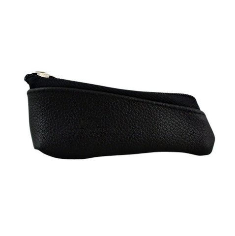 RazoRock Zippered Genuine Leather Razor Pouch - RazoRock - ItalianBarber.com - 1