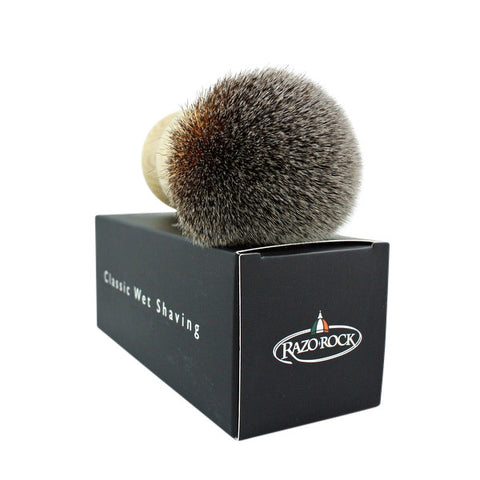 RazoRock Plissoft Monster Synthetic Shaving Brush - 26mm MONSTER - (For Kits - CSKB)-RazoRock-ItalianBarber