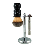RazoRock Chrome Razor and Brush Stand - #2-RazoRock-ItalianBarber