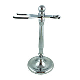 RazoRock Elegant Chrome Razor and Brush Stand - #4 - (For Kits - CSKB) - RazoRock - ItalianBarber.com - 1