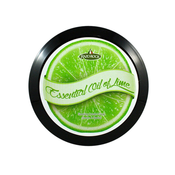 RazoRock Essential Oil Of Lime Italian Shaving Soap - RazoRock - ItalianBarber.com