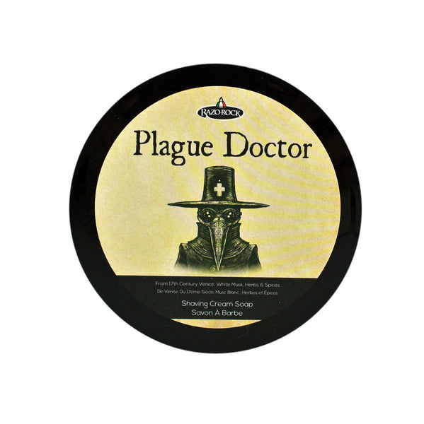 RazoRock Plague Doctor Shaving Cream Soap - RazoRock - ItalianBarber.com