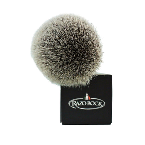 RazoRock BC Silvertip Plissoft Synthetic Shaving Brush - RazoRock - ItalianBarber.com - 3