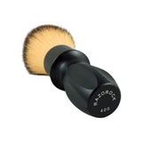 RazoRock 400 Plissoft Synthetic Shaving Brush - Matte Black Handle-RazoRock-ItalianBarber