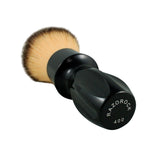 RazoRock 400 Plissoft Synthetic Shaving Brush - Glossy Black Handle-RazoRock-ItalianBarber