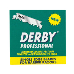 100 Derby Professional Half Blades for Barber Razors - Derby - ItalianBarber.com