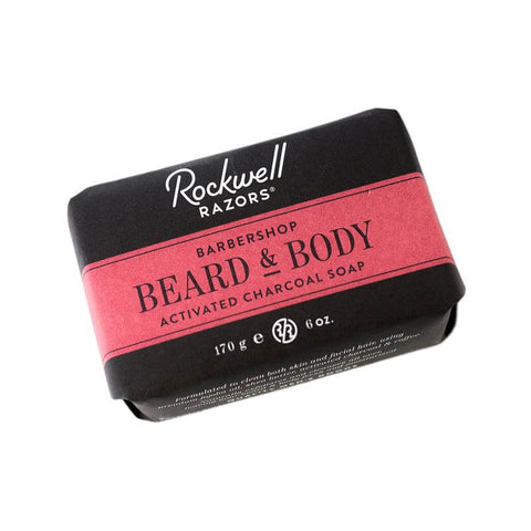 Rockwell Beard And Body Bar Soap - Barbershop Scent-Rockwell Razors-ItalianBarber