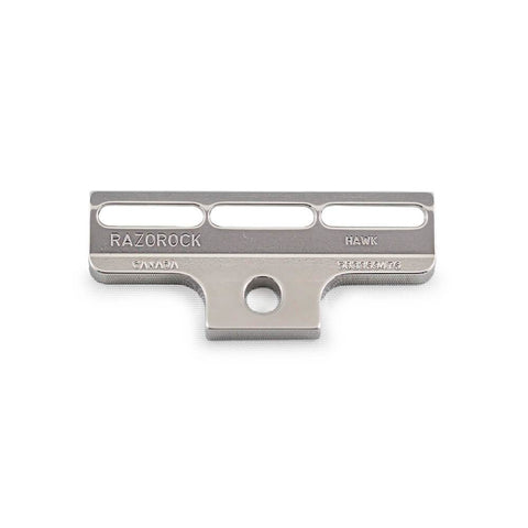RazoRock Stainless Steel HAWK Single-Edge Razor - v3-RazoRock-ItalianBarber