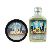 (Combo Pack) RazoRock for Chicago Shaving Soap & After Shaving Splash-RazoRock-ItalianBarber
